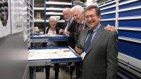 American delegates explore the museums stores with Hon Curator Dr Margaret Wilson resized.jpg