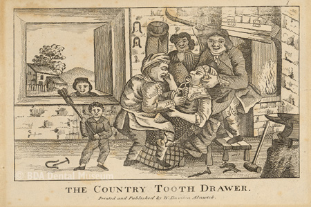 The country tooth drawer, 1812-1817