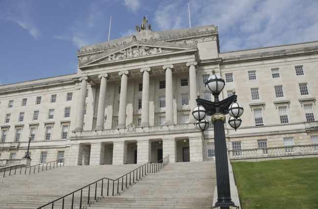 Stormont buildings, where BDA campaign on dentists pay